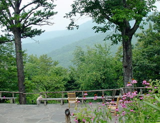 Wildacres Retreat and Conference Center in the Blue Ridge mountains of North Carolina.
